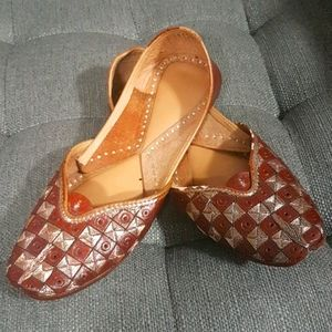 NEW Ethnic Handmade Embroidered Flats | Size 7.5